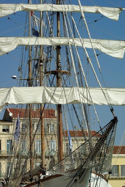 France sète sailboat.