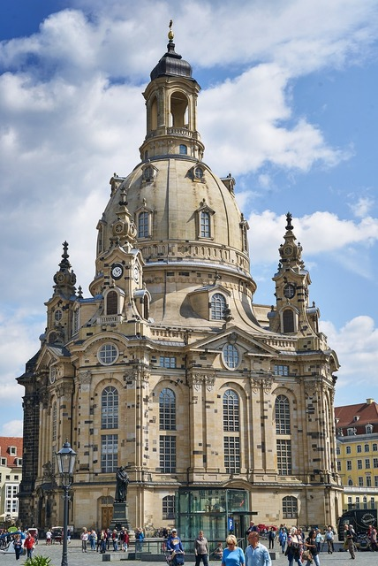 Frauenkirche dresden germany, architecture buildings.