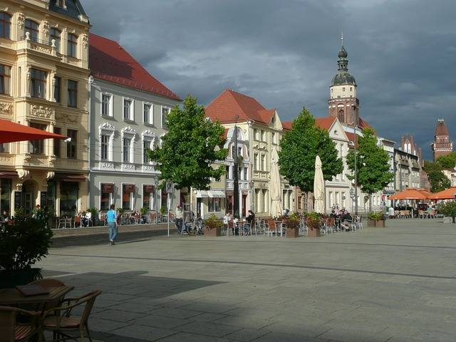 Freiberg europe town, architecture buildings.