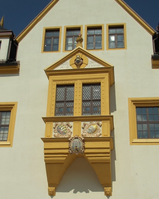 Freiberg mountain town town hall, architecture buildings.