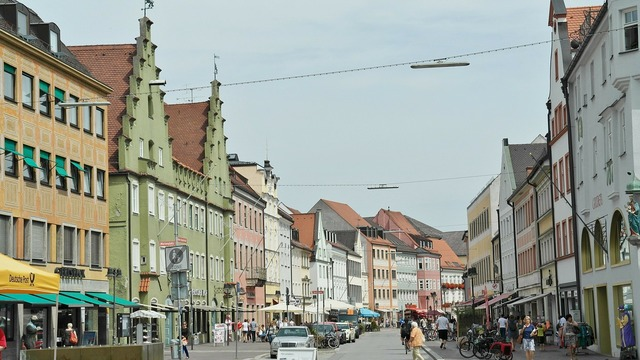 Freising university city bavaria.