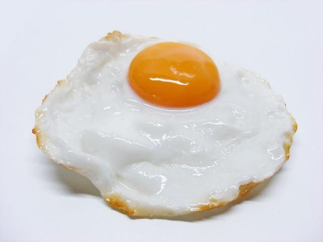 Fried eggs egg, food drink.