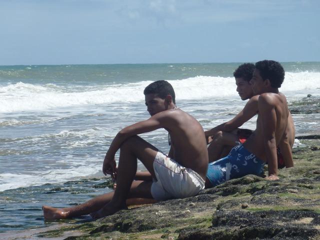 Friends beach sauípe, travel vacation.