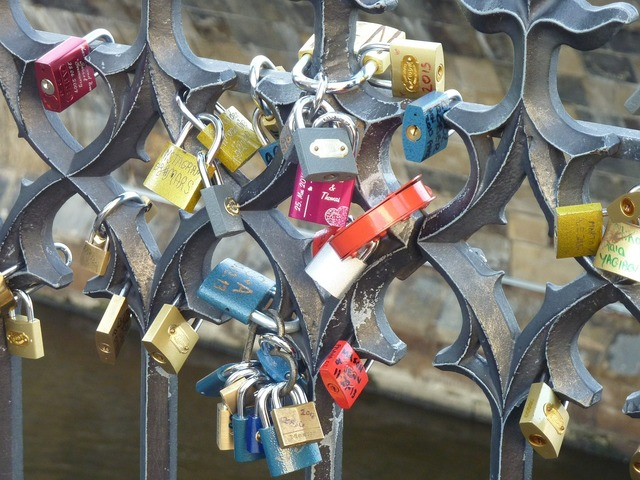 Friendship locks castle love locks, emotions.