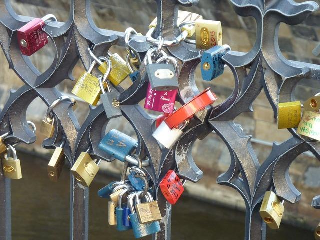 Friendship locks castle love locks, emotions.