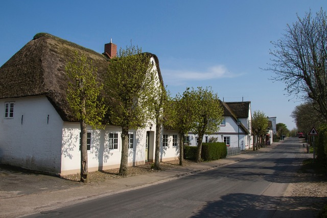 Friesenhaus thatched roof föhr.