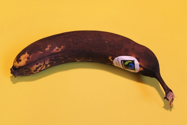 Fruit banana brown, food drink.