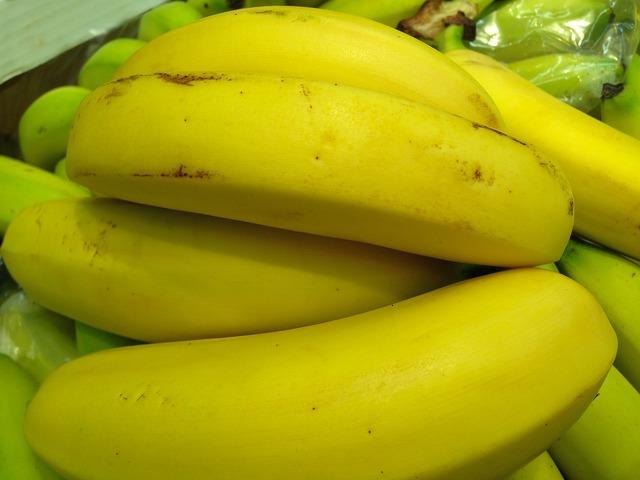 Fruit bananas market, food drink.