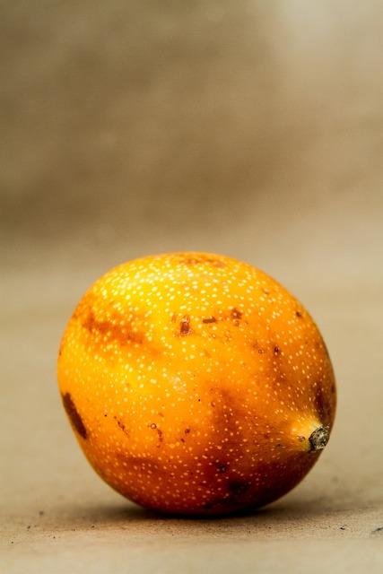 Fruit granadilla seeds, food drink.