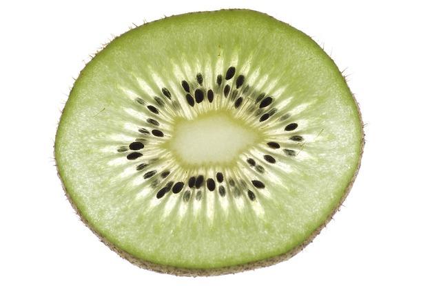 Fruit kiwi macro, food drink.