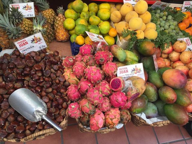 Fruit market canary islands, food drink.