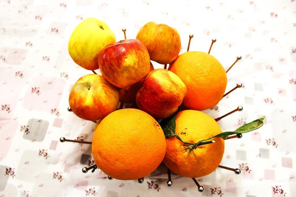 Fruit orange apple, food drink.