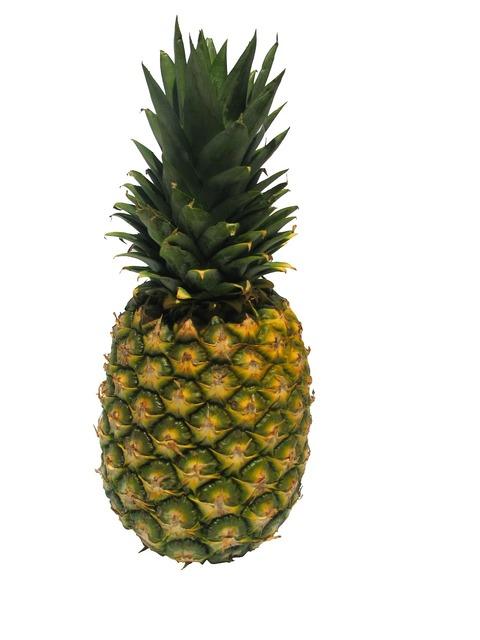 Fruit pineapple ganz, food drink.