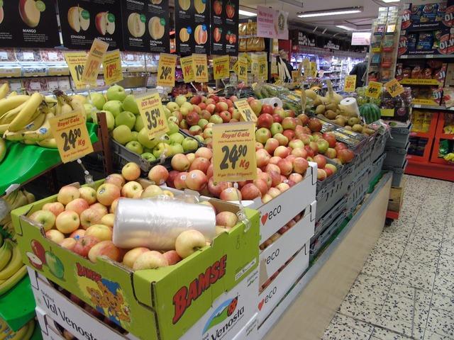 Fruit shop organic, food drink.