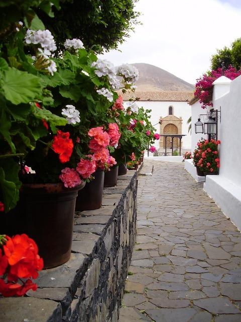 Fuerteventura betancuria spain, places monuments.