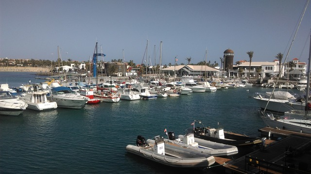Fuerteventura caleta de fuste canary islands.