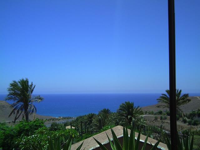 Fuerteventura water sea, travel vacation.