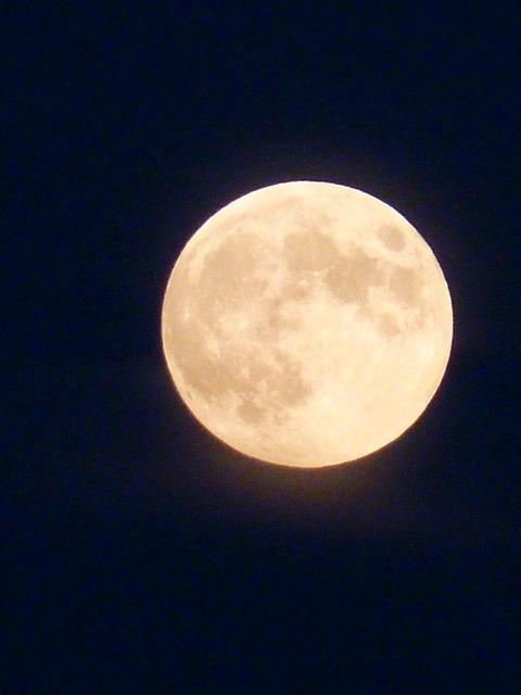 Full moon moon night.