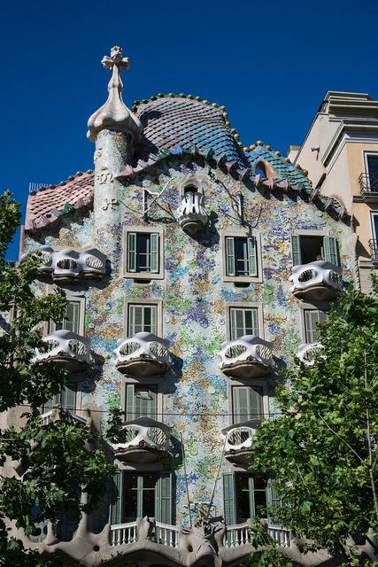 Fun spain barcelona, architecture buildings.