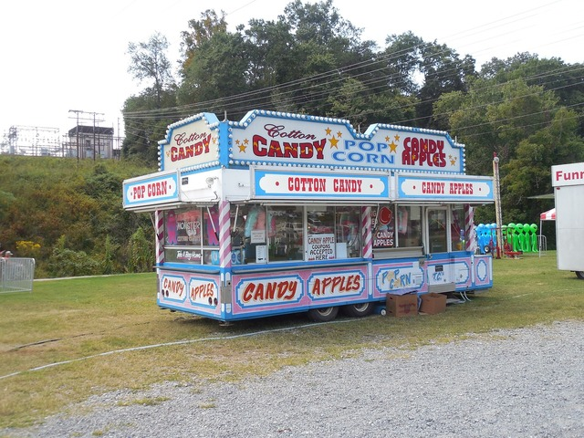 Funnel cake fair carnival, food drink.