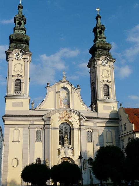 Fürstenzell port church church port church, religion.