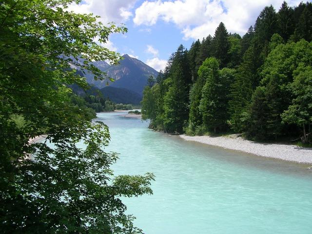 Füssen allgäu river.