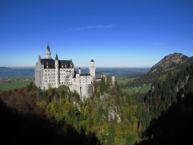 Fussen neuschwanstein elderly castle.