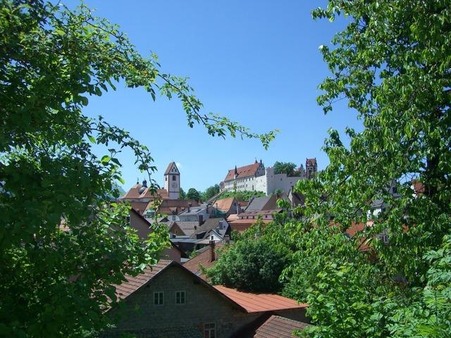Füssen st mang church high castle.