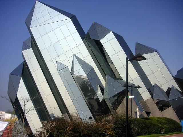 Futuroscope poitiers france, architecture buildings.