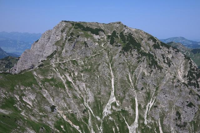 Gaishorn mountain tannheim, nature landscapes.