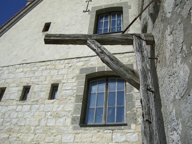Gallows wood burg katzenstein.