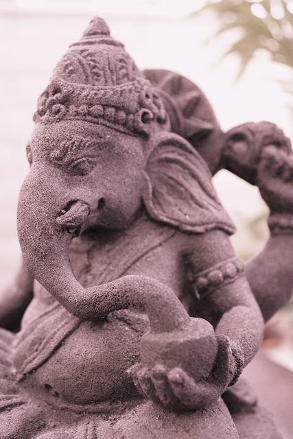 Ganesh sepia mantra, religion.