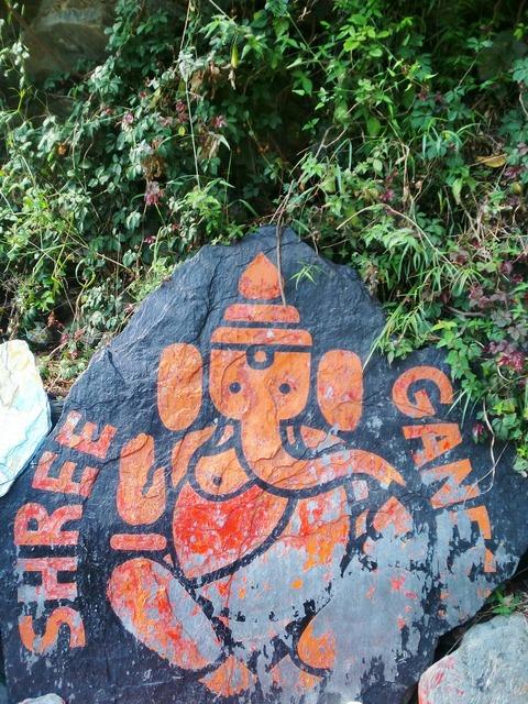 Ganesha deity india.
