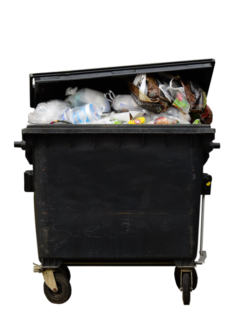 Garbage dustbin waste.
