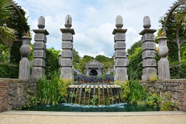 Garden castle schlossgarten.
