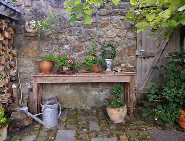 Garden gartendeko garden decoration, nature landscapes.