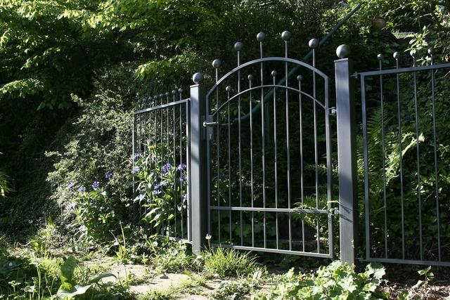 Garden gate garden fence.