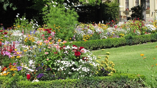 Garden of residence würzburg garden.
