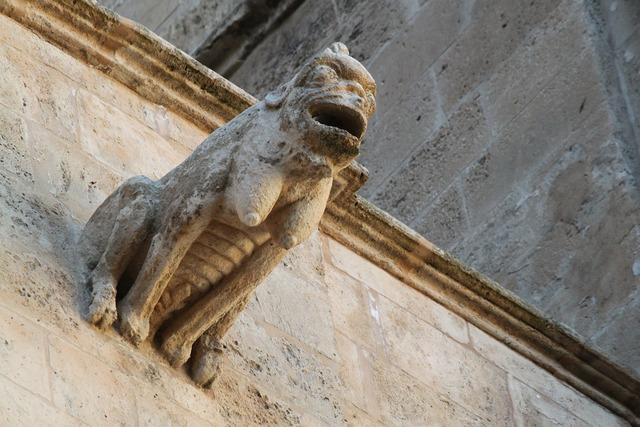 Gargoyle architecture sculpture, architecture buildings.
