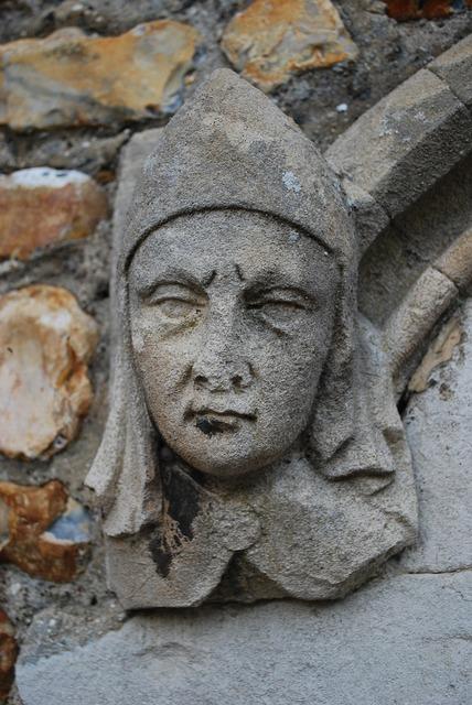 Gargoyle stone mason, religion.