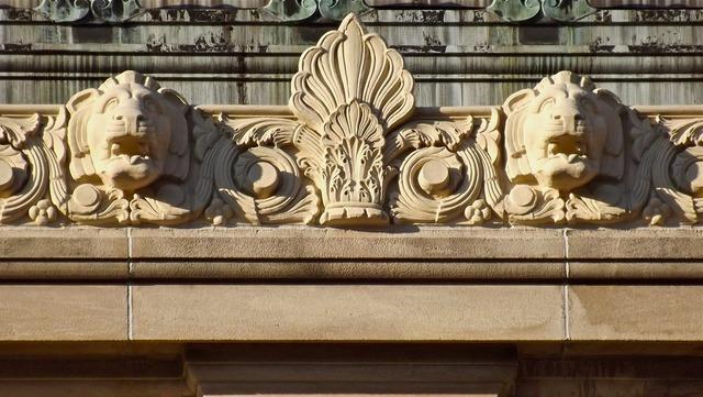 Gargoyles lions architecture, architecture buildings.