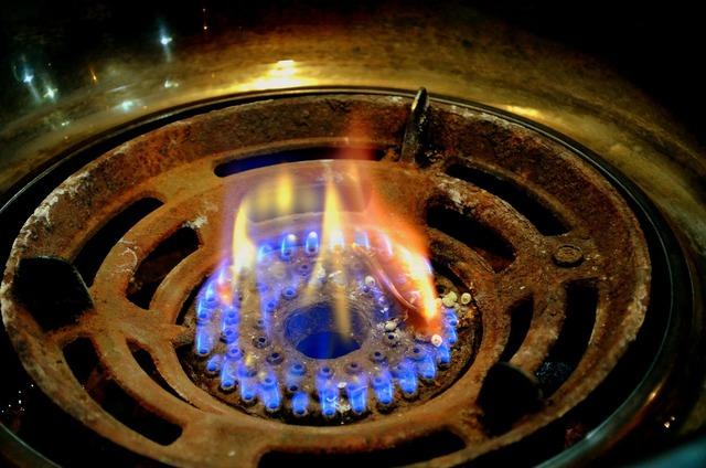 Gas flame flame gas burner, food drink.