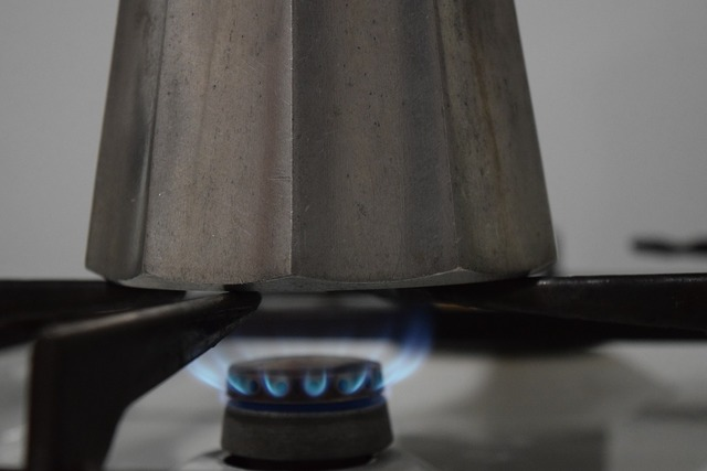 Gas gas flame gas stove.