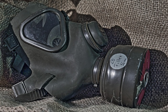 Gas mask respiratory mask gift.