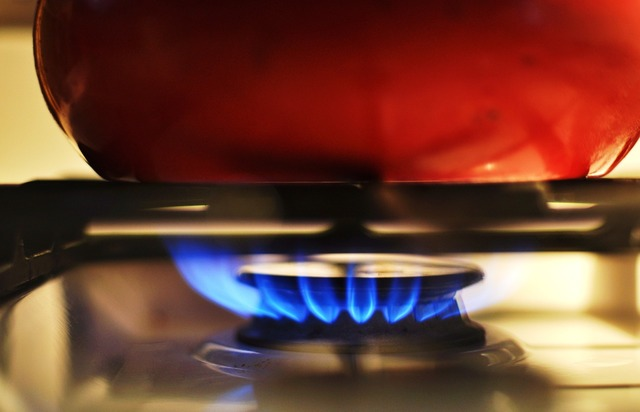 Gas stove heat, architecture buildings.