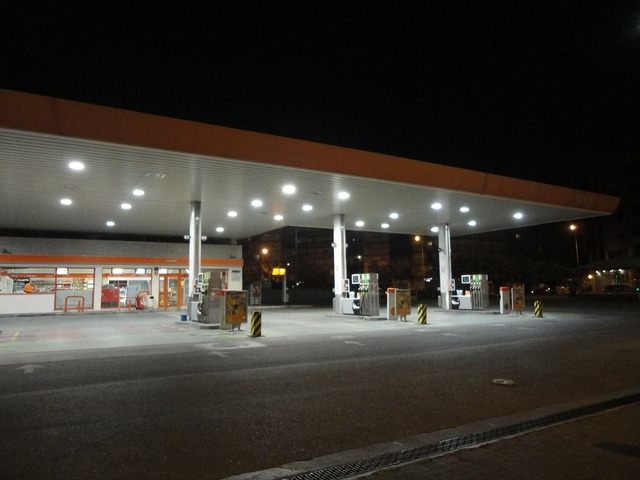 Gasilinera night lights, business finance.