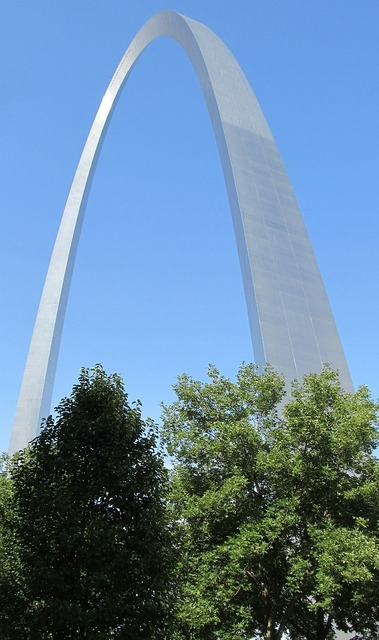 Gateway arch saint louis symbol, architecture buildings.
