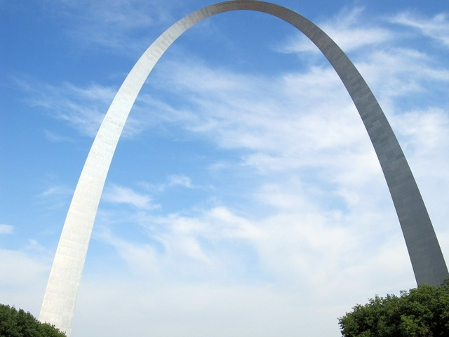Gateway arch saint louis symbol, architecture buildings.