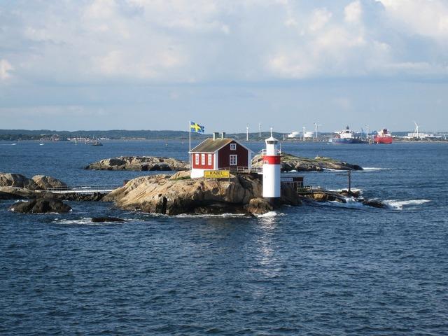 Gäveskär gothenburg baltic sea.