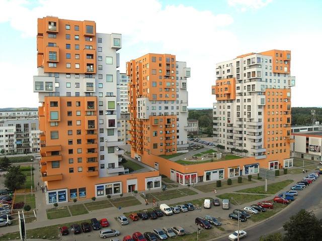 Gdansk poland buildings, architecture buildings.